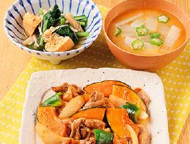 豚肉と夏野菜のスタミナ炒め